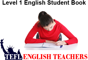 Level 1 English Student Book